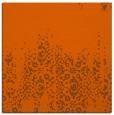 rug #1105286 | square red-orange faded rug