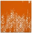 rug #1105290 | square red-orange damask rug
