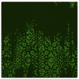 rug #1105294   square light-green damask rug