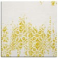 rug #1105334 | square yellow faded rug