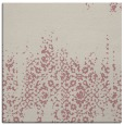 rug #1105366 | square pink damask rug