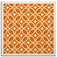 rug #110537 | square orange circles rug