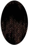 rug #1105395 | oval traditional rug
