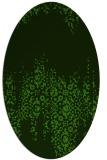 rug #1105440 | oval traditional rug