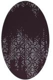 rug #1105627   oval faded rug
