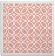 rug #110565   square white circles rug