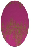 rug #1105722 | oval light-green faded rug