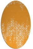 rug #1105740 | oval traditional rug