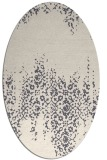 rug #1105744 | oval traditional rug