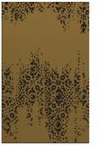 rug #1105766 |  mid-brown damask rug