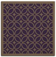 rug #110577 | square mid-brown borders rug