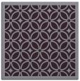 rug #110581 | square purple circles rug