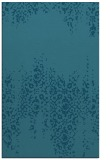 rug #1105818 |  blue-green traditional rug