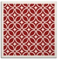 rug #110593   square red circles rug