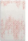 rug #1105978 |  pink damask rug