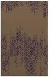 rug #1105990 |  purple traditional rug