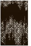 rug #1106046    brown damask rug