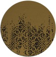 rug #1106134 | round black faded rug