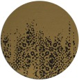 rug #1106142 | round brown faded rug