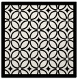 rug #110617 | square white geometry rug