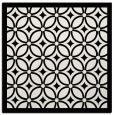 rug #110617 | square black borders rug