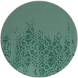 rug #1106170 | round blue-green traditional rug