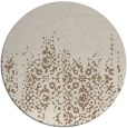 rug #1106270 | round faded rug