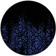 rug #1106314 | round black faded rug