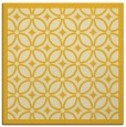 rug #110633 | square yellow rug