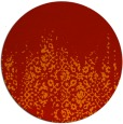 rug #1106371 | round damask rug