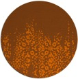 rug #1106385 | round faded rug