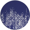 rug #1106410 | round white faded rug