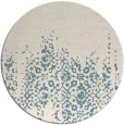 rug #1106423 | round faded rug