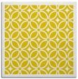 rug #110645   square yellow circles rug
