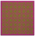 rug #110673 | square pink borders rug