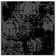 rug #1106858 | square black damask rug