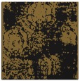 rug #1106870 | square mid-brown traditional rug
