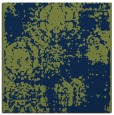 rug #1106894 | square blue traditional rug
