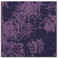 rug #1106950 | square blue-violet damask rug