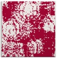 rug #1106970 | square red faded rug