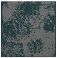 rug #1106982 | square blue-green damask rug