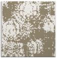 rug #1107010 | square mid-brown damask rug