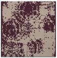 rug #1107014 | square pink damask rug