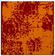 rug #1107054 | square orange damask rug