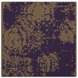 rug #1107094 | square purple damask rug