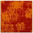 rug #1107106 | square red damask rug