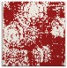 rug #1107110 | square red faded rug