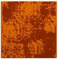 rug #1107118 | square red-orange traditional rug