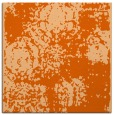 rug #1107122 | square red-orange traditional rug