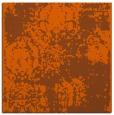 rug #1107126 | square red-orange traditional rug
